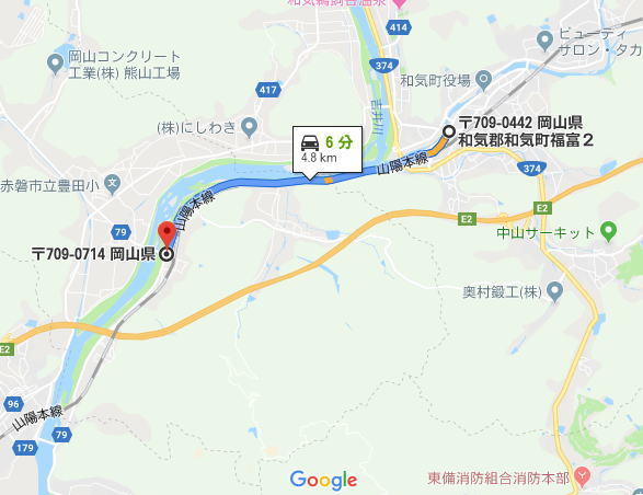 和気熊山線 岡山県道395号 – 岡山県の道路・公共施設ガイド